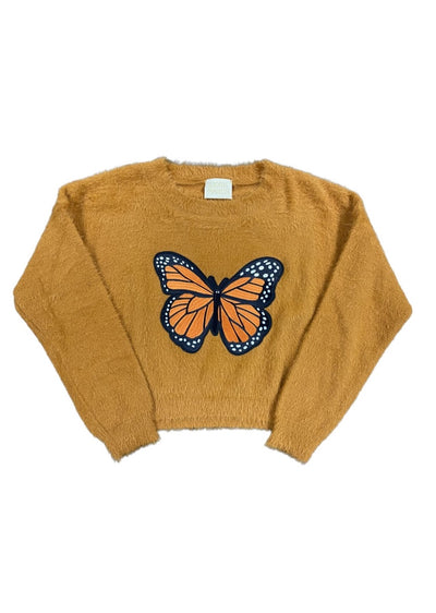 BURNT BUTTERFLY SWEATER