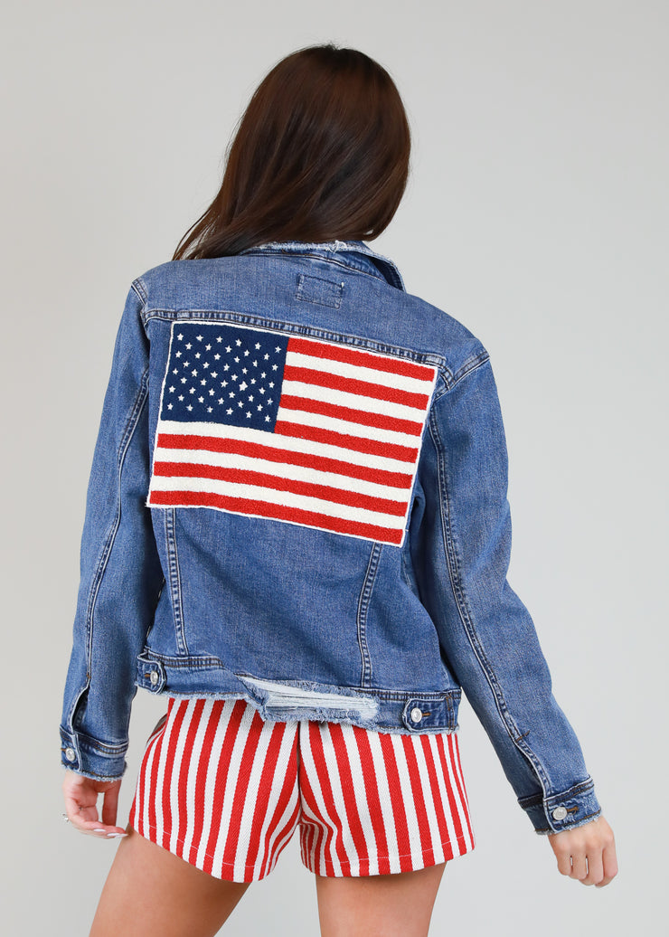 GLORY GLORY DENIM JACKET