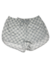 GREY CHECK MATE TRACK SHORT
