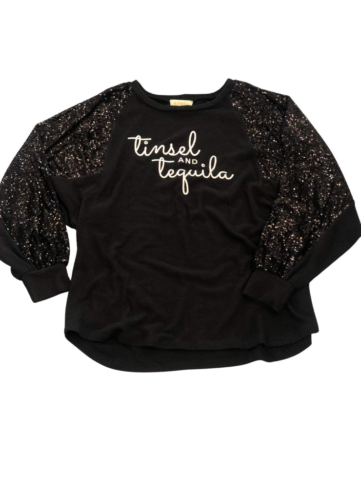 Tinsel and Tequila Sequin Top
