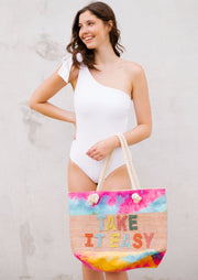 TALIA TIE WHITE ONE PIECE