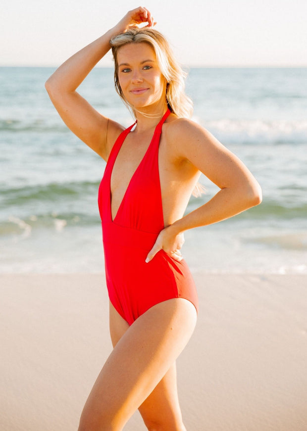HARPER HALTER ONE-PIECE