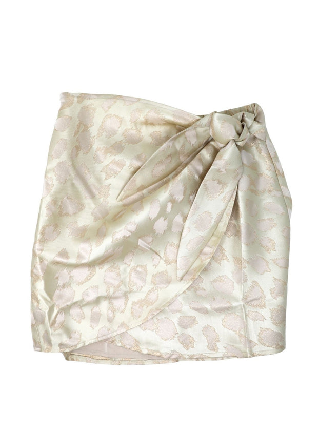 Goldie Leopard Wrap Skirt