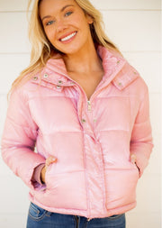 Baby Pink Puffer