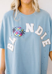 BLONDIE DISCO T-SHIRT TUNIC