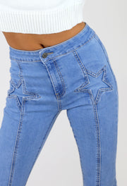 Star Struck Denim Flares
