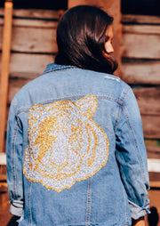 EYE OF THE TIGER DENIM JACKET