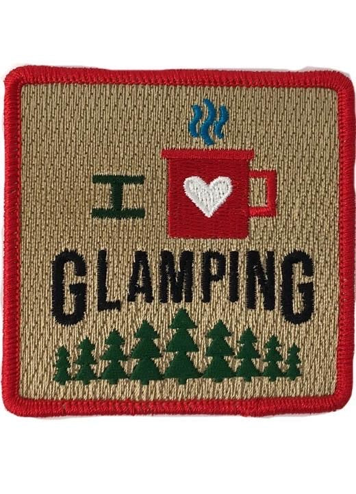 I LOVE GLAMPING PATCH