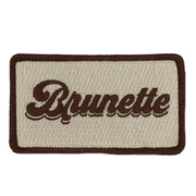 BRUNETTE PATCH