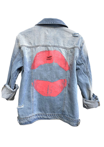 Pucker Up Denim Jacket