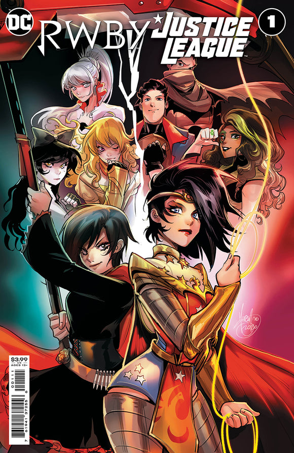 RWBY JUSTICE LEAGUE #1 (OF 7) CVR A MIRKA ANDOLFO