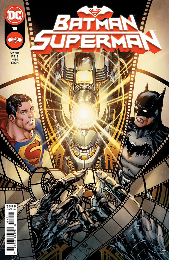 BATMAN SUPERMAN #18 CVR A IVAN REIS