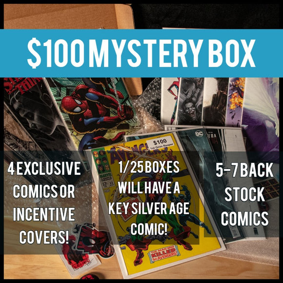 $100 Mystery Box - Black Cape Comics - Black Cape Comics