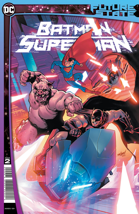 FUTURE STATE BATMAN SUPERMAN #2 (OF 2) CVR A DAVID MARQUEZ