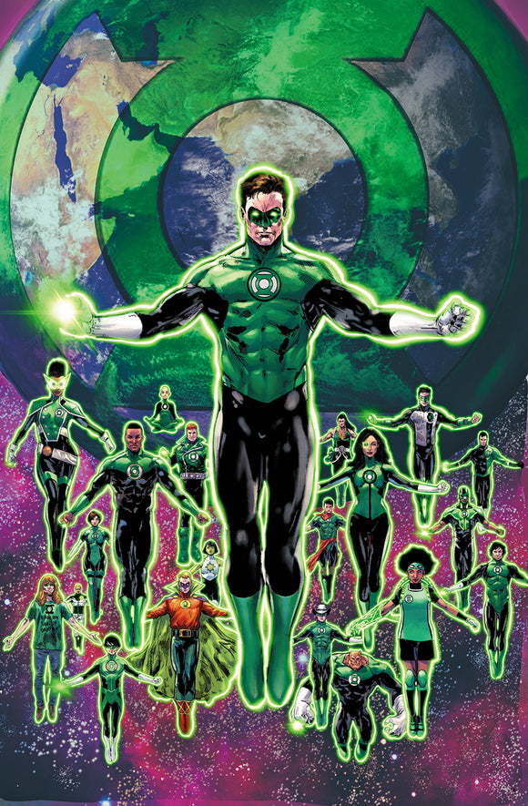 GREEN LANTERN SEASON TWO #11 (OF 12) CVR B PHIL JIMENEZ VAR
