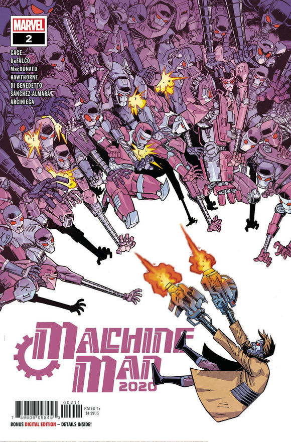 2020 MACHINE MAN #2 (OF 2) - MARVEL COMICS - Black Cape Comics