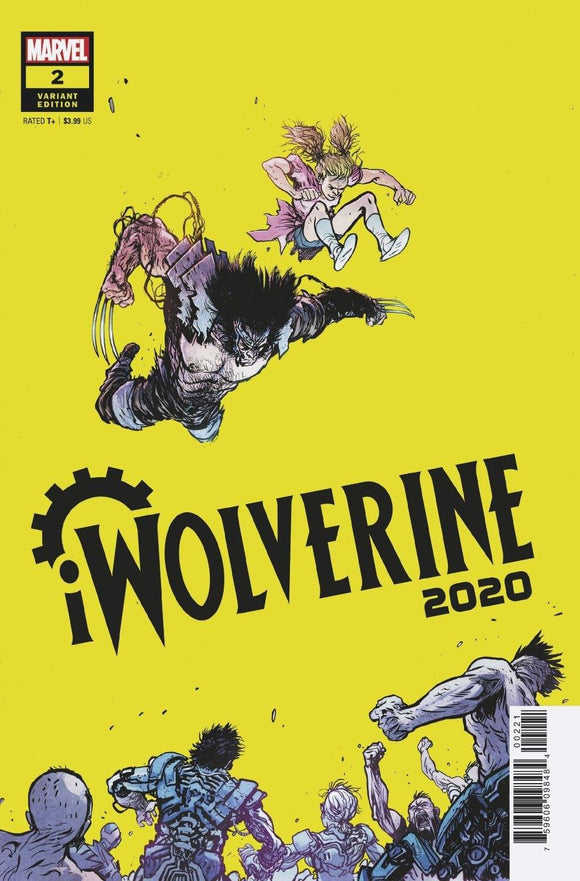 2020 IWOLVERINE #2 (OF 2) JOHNSON VAR - MARVEL COMICS - Black Cape Comic