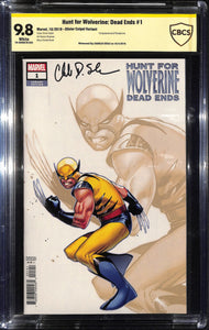 HUNT FOR WOLVERINE DEAD ENDS #1 COIPEL VAR CBCS 9.8