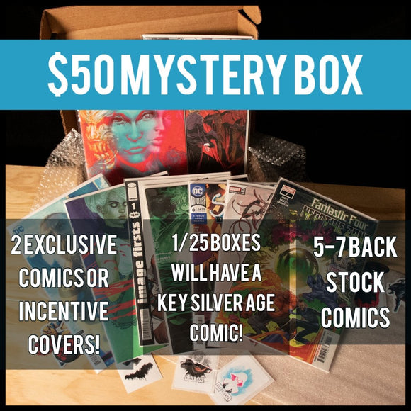 $50 Mystery Box - Black Cape Comics - Black Cape Comics