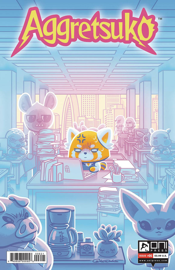 AGGRETSUKO #6 CVR B CALTSOUDAS - ONI PRESS INC. - Black Cape Comic