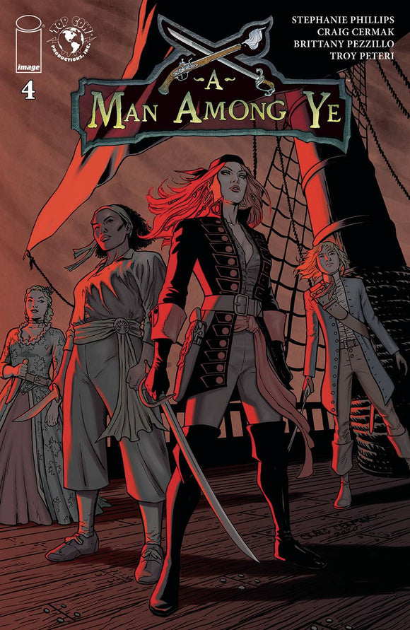 A MAN AMONG YE #4 - IMAGE COMICS - Black Cape Comic