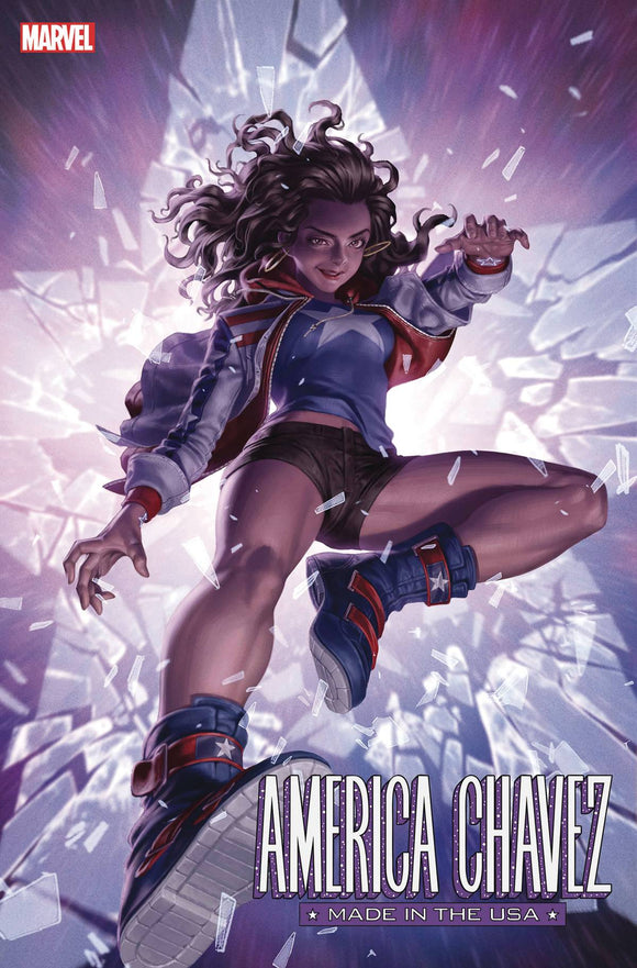 AMERICA CHAVEZ MADE IN USA #1 (OF 5) YOON VAR