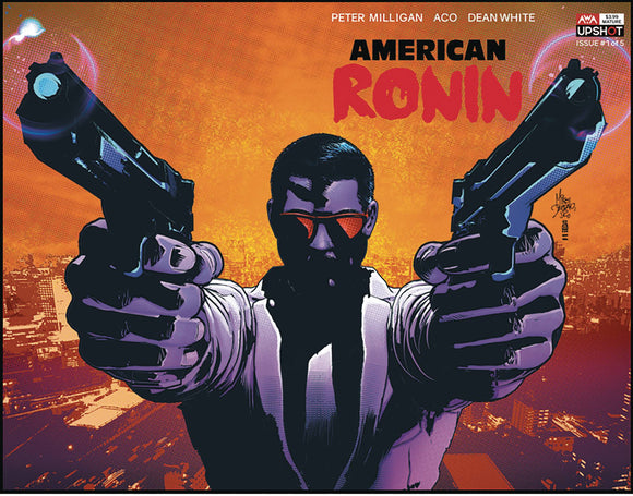 AMERICAN RONIN #1 (OF 5) CVR B DEODATO JR (MR) - ARTISTS WRITERS & ARTISANS INC - Black Cape Comic