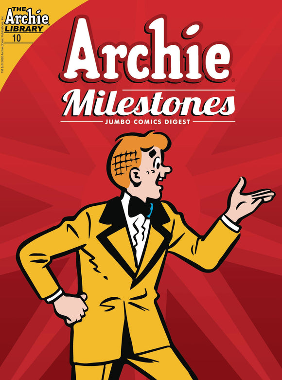 ARCHIE MILESTONES JUMBO DIGEST #10 - ARCHIE COMIC PUBLICATIONS - Black Cape Comic