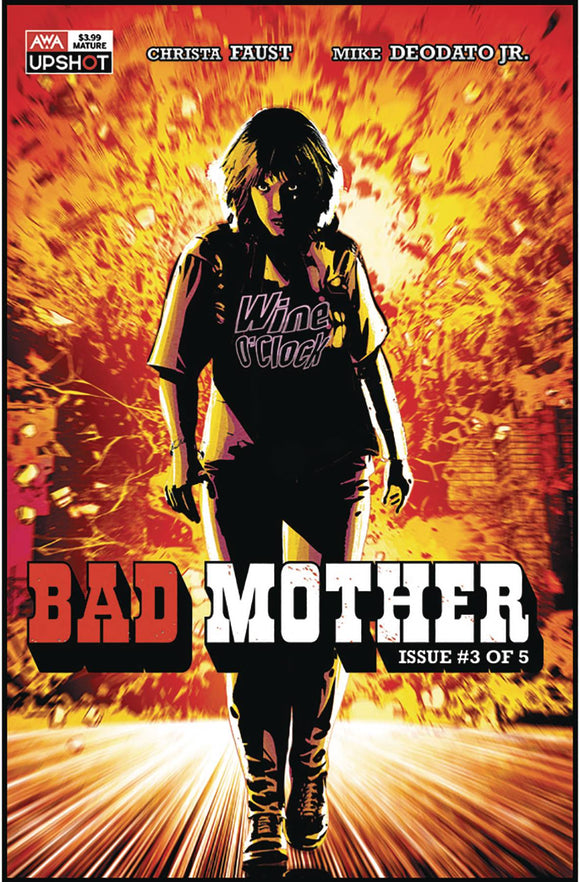 BAD MOTHER #3 (OF 5) (MR) - ARTISTS WRITERS & ARTISANS INC - Black Cape Comic