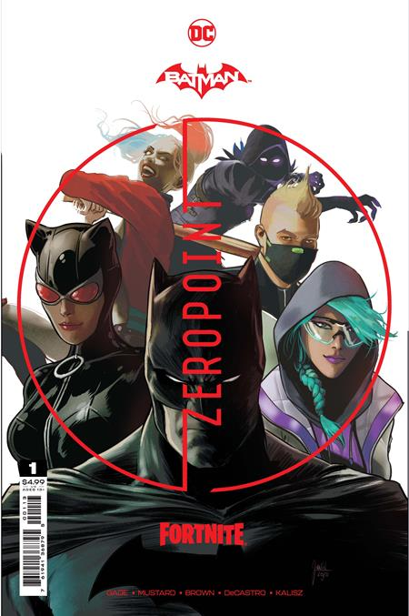 BATMAN FORTNITE ZERO POINT #1 Third Printing