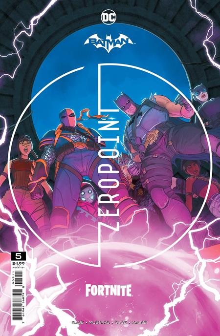 BATMAN FORTNITE ZERO POINT #5 CVR A