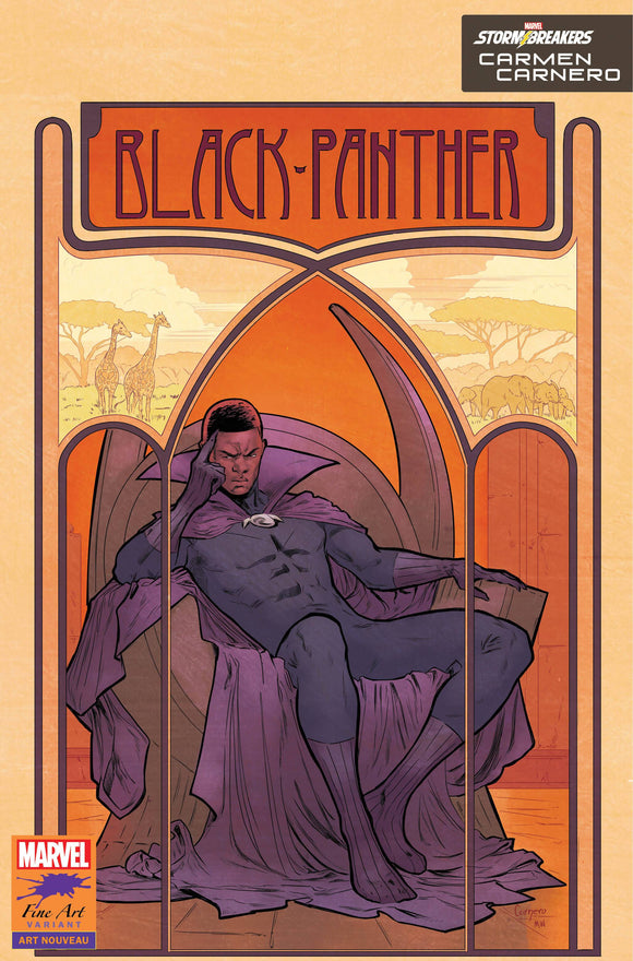 BLACK PANTHER #25 CARNERO STORMBREAKERS VAR