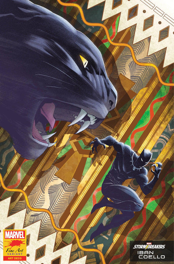 BLACK PANTHER #25 COELLO STORMBREAKERS VAR