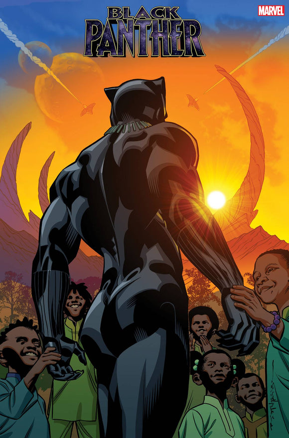 BLACK PANTHER #25 STELFREEZE FINAL ISSUE VAR