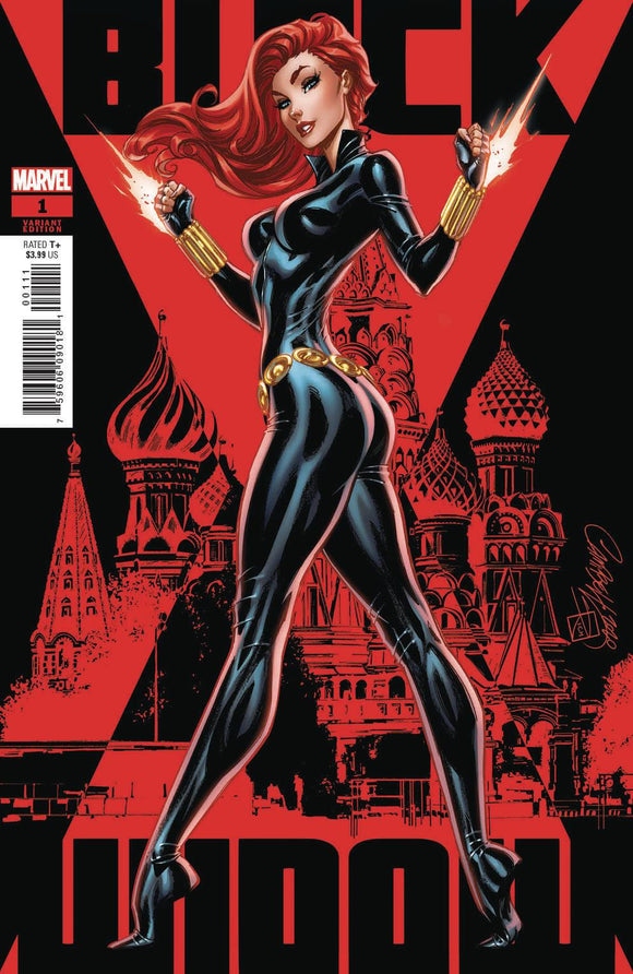 BLACK WIDOW #1 JS CAMPBELL VAR - MARVEL COMICS - Black Cape Comic