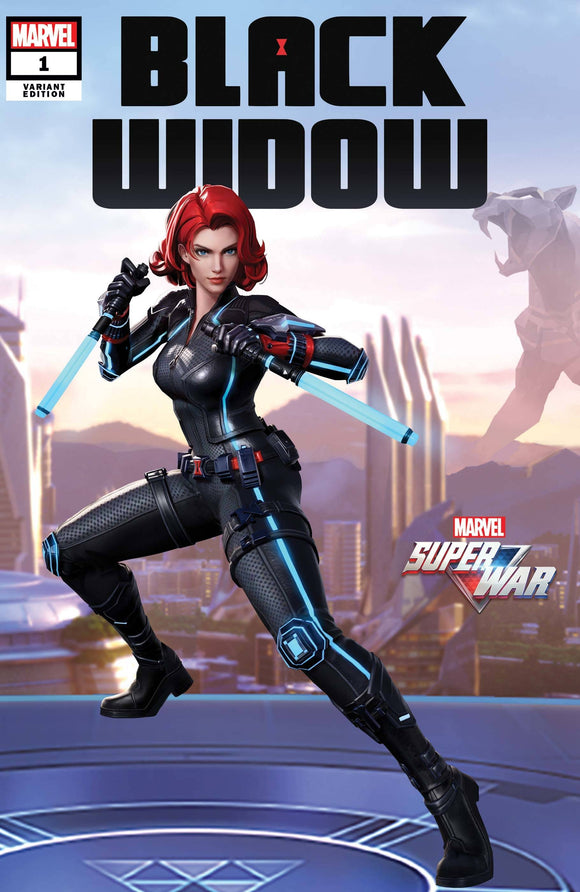 BLACK WIDOW #1 MARVEL SUPER WAR VAR - MARVEL COMICS - Black Cape Comic