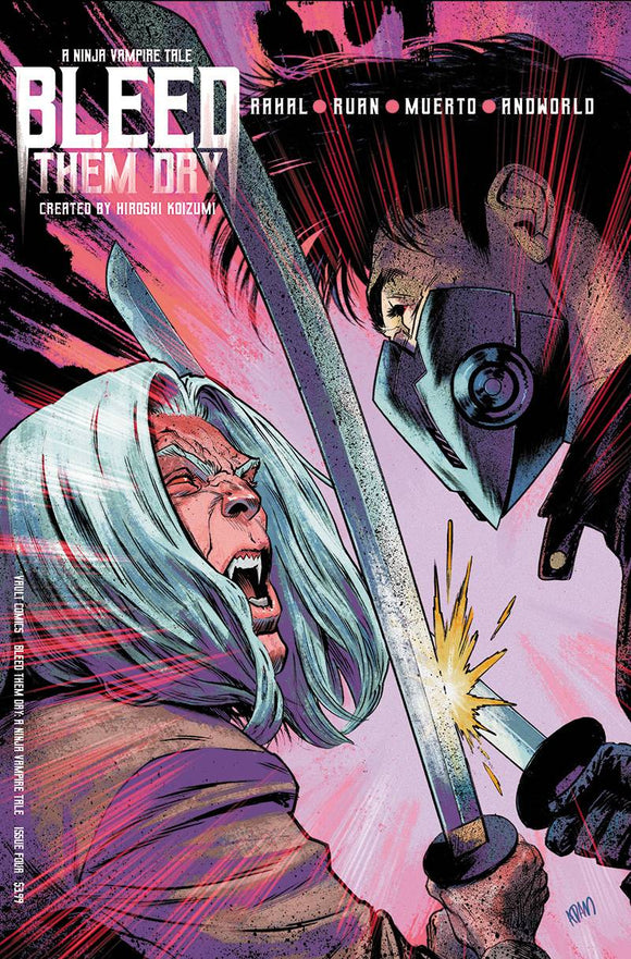 BLEED THEM DRY #4 CVR B GORHAM - VAULT COMICS - Black Cape Comic