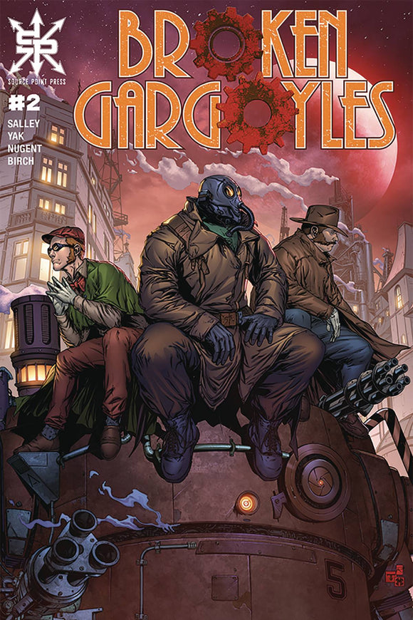 BROKEN GARGOYLES #2 (OF 3) (MR) - SOURCE POINT PRESS - Black Cape Comic