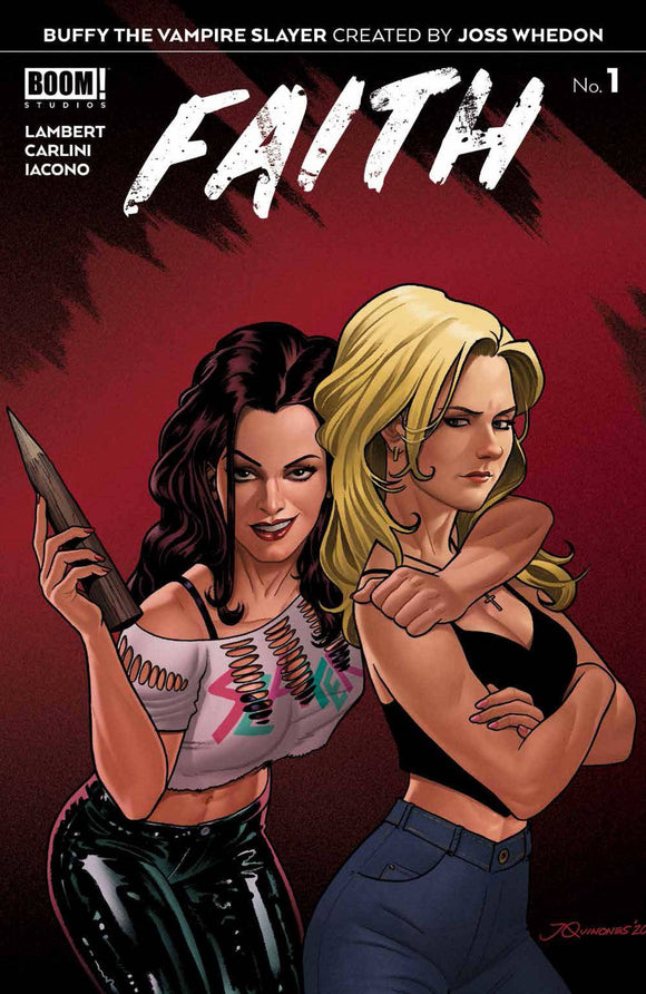 BUFFY THE VAMPIRE SLAYER FAITH #1 10 COPY INCV QUINONES