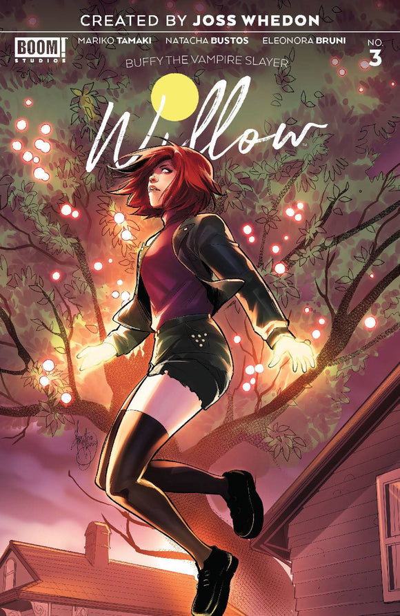 BUFFY THE VAMPIRE SLAYER WILLOW #3 CVR B ANDOLFO VAR - BOOM! STUDIOS - Black Cape Comic