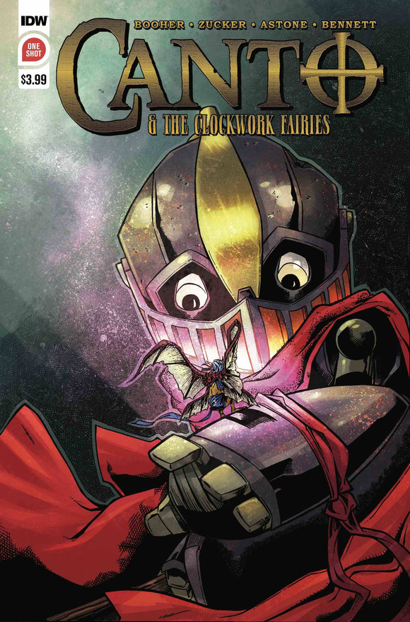 CANTO & CLOCKWORK FAIRIES ONE SHOT 2ND PTG - IDW PUBLISHING - Black Cape Comic