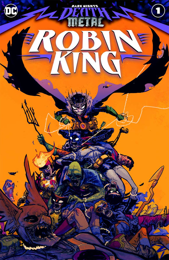 DARK NIGHTS DEATH METAL ROBIN KING #1 (ONE SHOT) CVR A RILEY ROSSMO - DC COMICS - Black Cape Comic