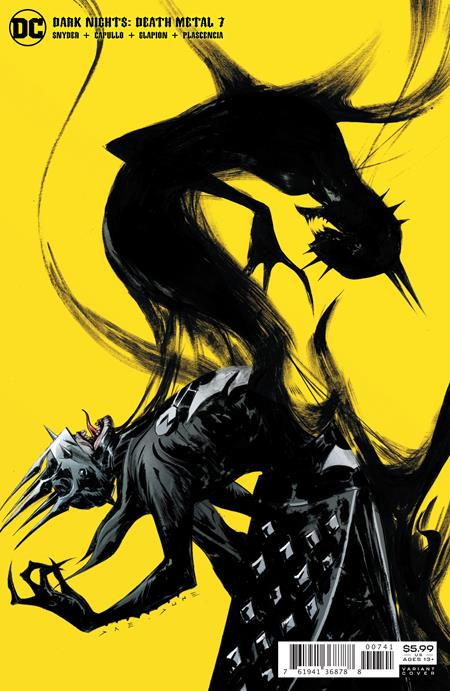 DARK NIGHTS DEATH METAL #7 (OF 7) CVR D JAE LEE BATMAN WHO LAUGHS VAR