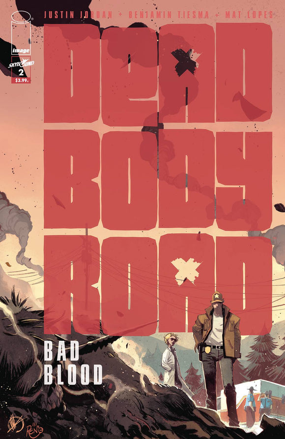 DEAD BODY ROAD BAD BLOOD #2 (OF 6) (MR) - Black Cape Comics