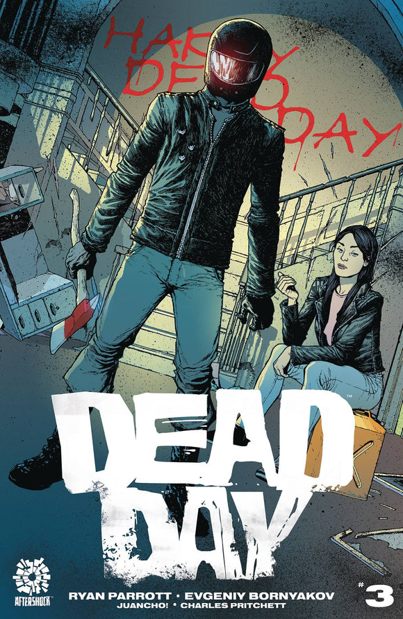 DEAD DAY #3 - AFTERSHOCK COMICS - Black Cape Comic