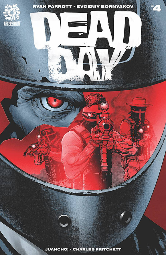 DEAD DAY #4 - AFTERSHOCK COMICS - Black Cape Comic
