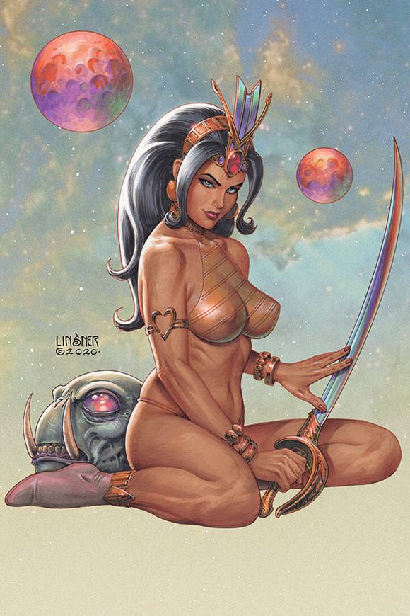 DEJAH THORIS (2019) #8 CVR C LINSNER - DYNAMITE - Black Cape Comic