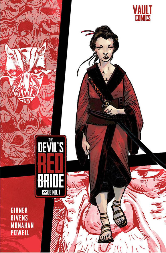 DEVILS RED BRIDE #1 CVR A BIVENS (MR) - VAULT COMICS - Black Cape Comic