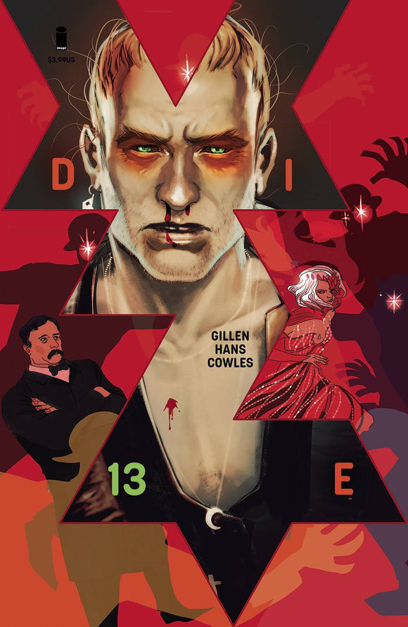 DIE #13 CVR A HANS (MR) - IMAGE COMICS - Black Cape Comic
