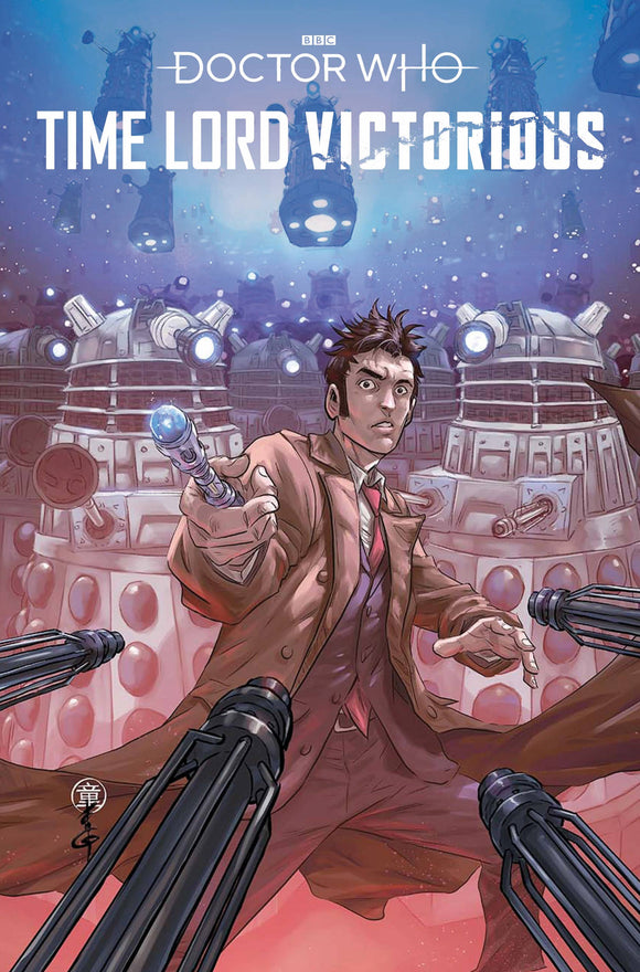 DOCTOR WHO TIME LORD VICTORIOUS #1 CVR C QUAH - TITAN COMICS - Black Cape Comic